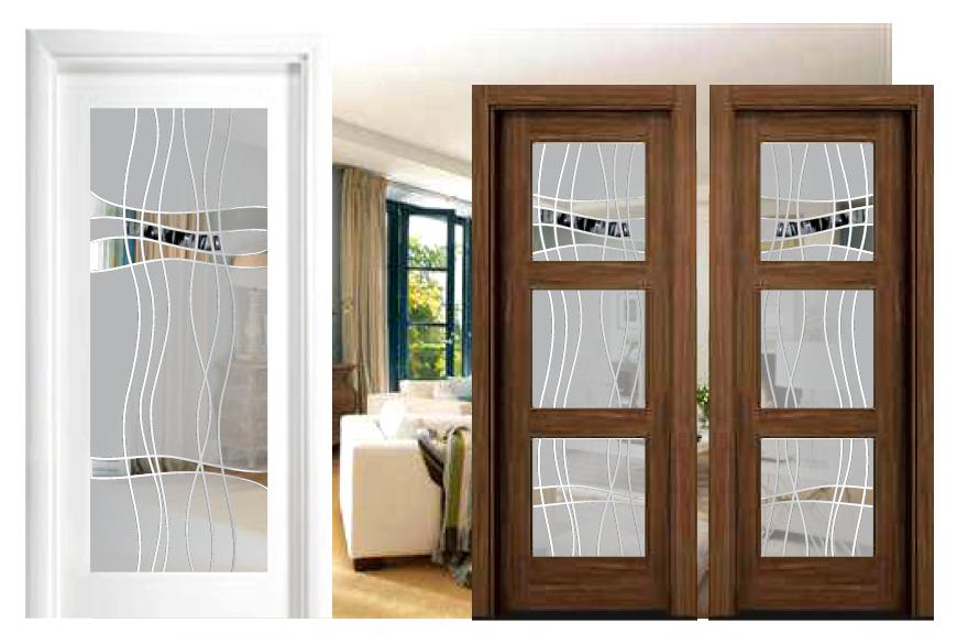Cristales para puertas fussing cristaler a quijada - Cristales decorativos para puertas de interior ...