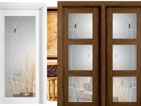 Cristales decorativos para puertas de interior excellent - Cristales decorados para puertas ...