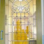vidriera artística para puerta