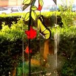 vidriera para puerta