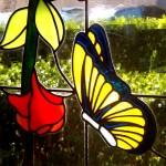 detalle de vidriera artesana