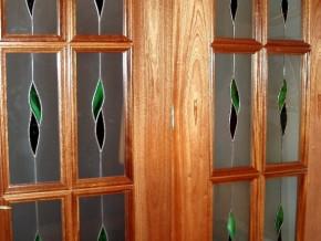 vidrios para puerta de cuarterones