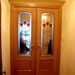 cristales vidrieras para puertas en recibidor