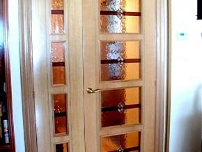 vidriera para puertas