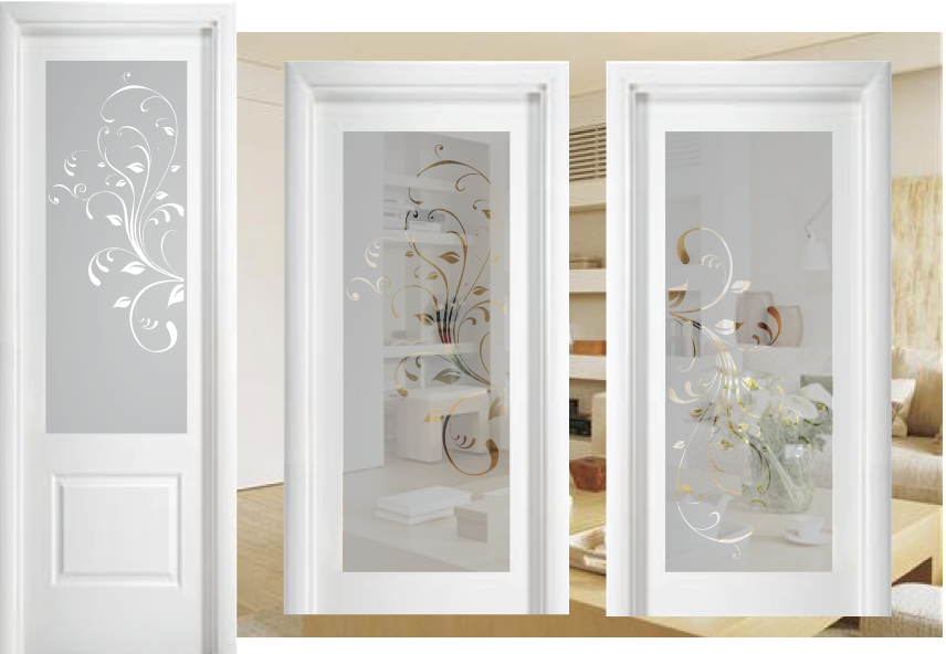 Cristales para puertas mateseda cristaler a quijada for Vidrios decorados para puertas interiores