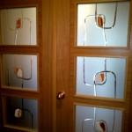 cristales para puertas con estría brillo y vidrio fundido