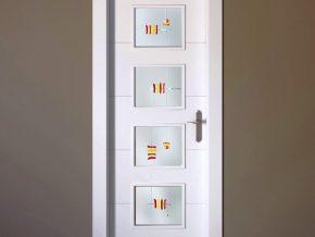 vidrios para puertas diseños actuales