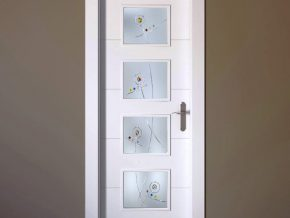 cristales para puertas diseños abstractos y personalizados
