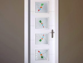 Cuarterones para puertas diseños exclusivos