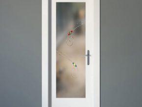 diseños livianos en cristales para puertas