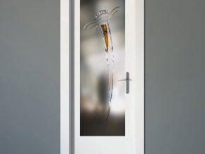 diseños llamativos para cristales de puertas de interior