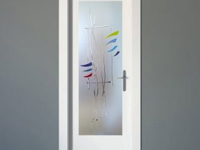 vidrios para puertas con diseño moderno
