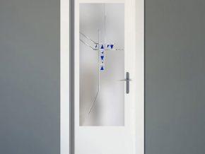 cristales luminosos para puertas