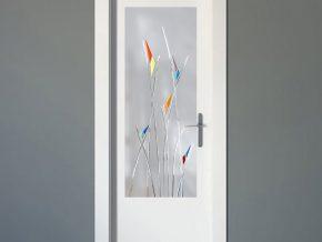 cristales mate para puertas de madera