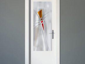 diseños modernos de cristales para puertas del hogar