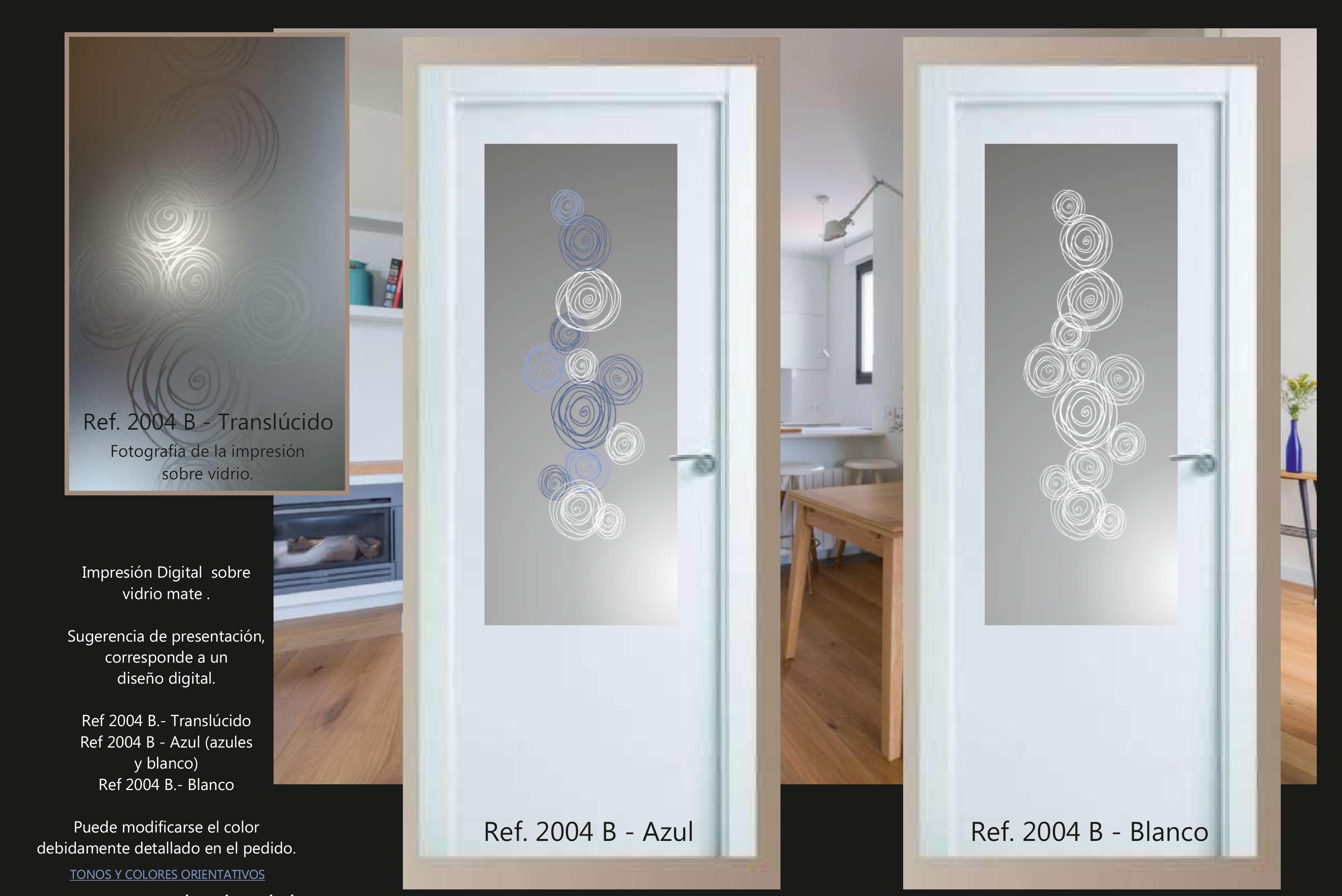 Cristales para puertas impresi n digital cristaler a - Cristales translucidos para puertas ...