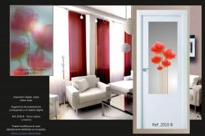 diseños para puertas de cristal