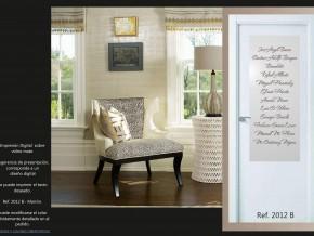 vidrios para puertas, diseños personalizados
