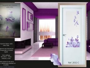 cristal decorativo para puerta