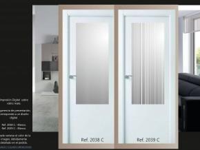 cristales para puertas con impresión digital