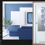 Impresión digital para cristales de puertas