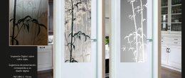 Cristales para puertas (Impresión digital)